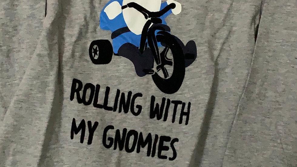 Camiseta importada Oshkosh gnomo na moto 3T ou 4T
