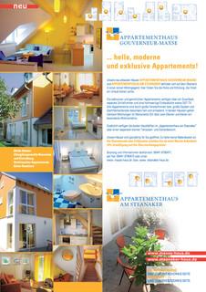 Helgoland Appartements Flyer