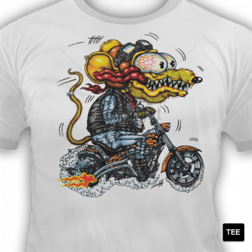 YELLOW MONSTER MOTORCYCLE