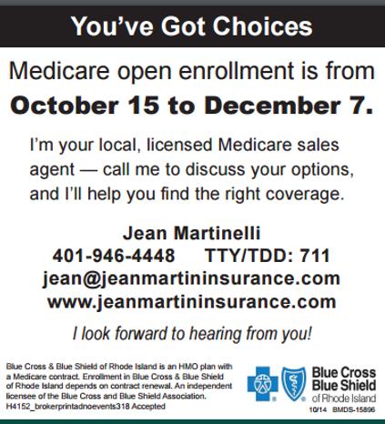 Medicare advantage insurance from Jean Martin Insurance