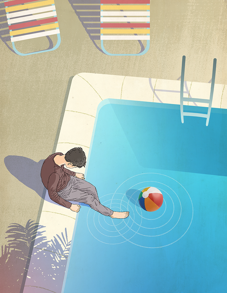 "Dominic Bugatto, ""Pool"""