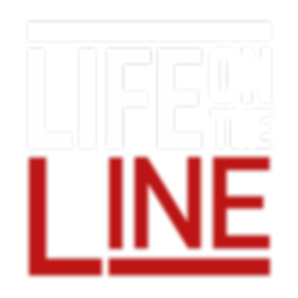 Life on the Line logo (white and red).pn