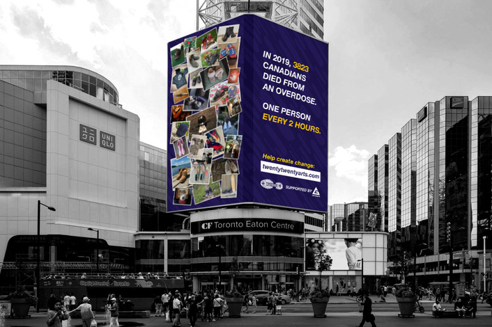 'Weathered' Overdose Awareness Campaign