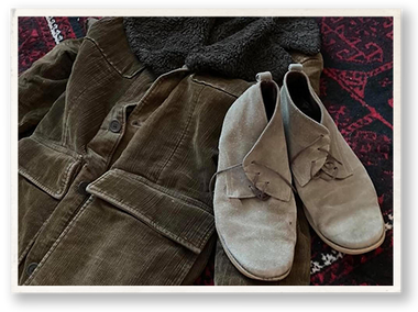 Geronimo's Shoes