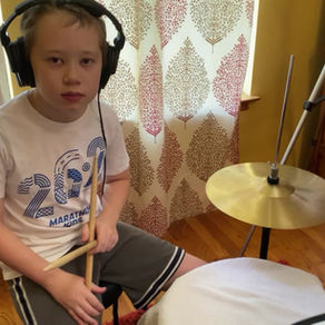 """""""#1 w/ 4 Cymbal Variations"""" by Aldrin Miller"""