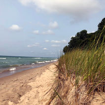 Beach/Lake Michigan