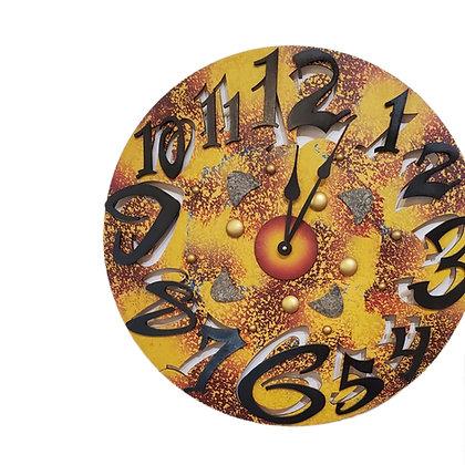 David Scherer Big Time Wall Clock