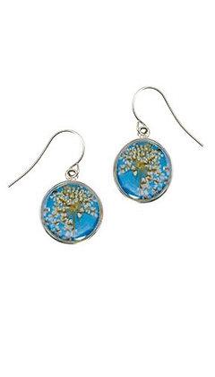 Shari Dixon Laceflower Belize Breeze Petite Rd. Earrings