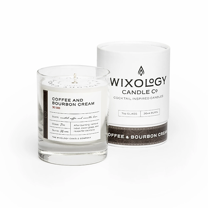Coffee & Bourbon Cream Candle by Wixology