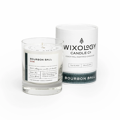 Bourbon Ball Candle by Wixology