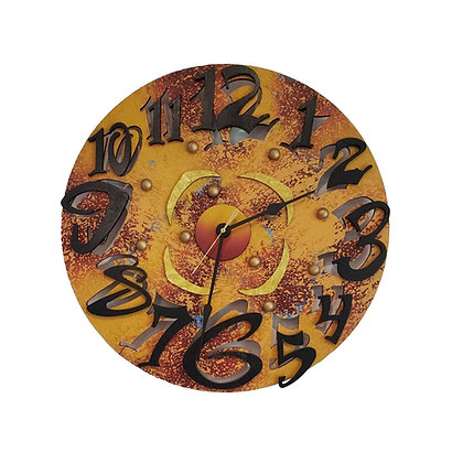 David Scherer Little Time Wall Clock