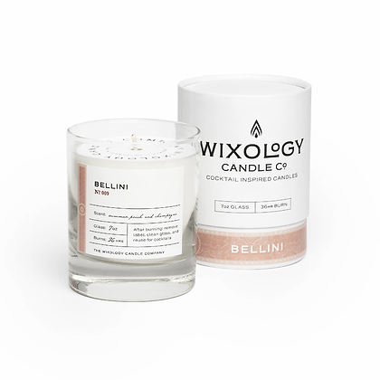 Bellini Candle by Wixology