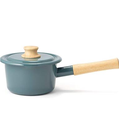 搪瓷手柄鍋16cm(IH兼容)