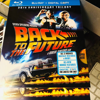 Blue Ray Back to the Future 25th Anniversary Trilogy