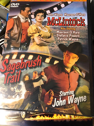 DVD McLintock & Sagebrush Trail