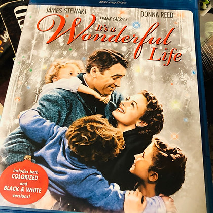 Blue Ray It's A Wonderful Life