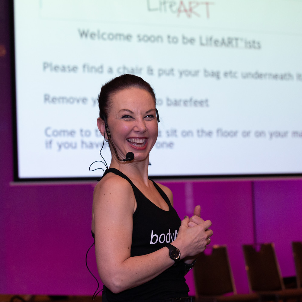 Presenting LifeART at Womens Health & Fitness Summit 2018