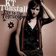 KT Turnstall - Eye To The Telescope (cover art)