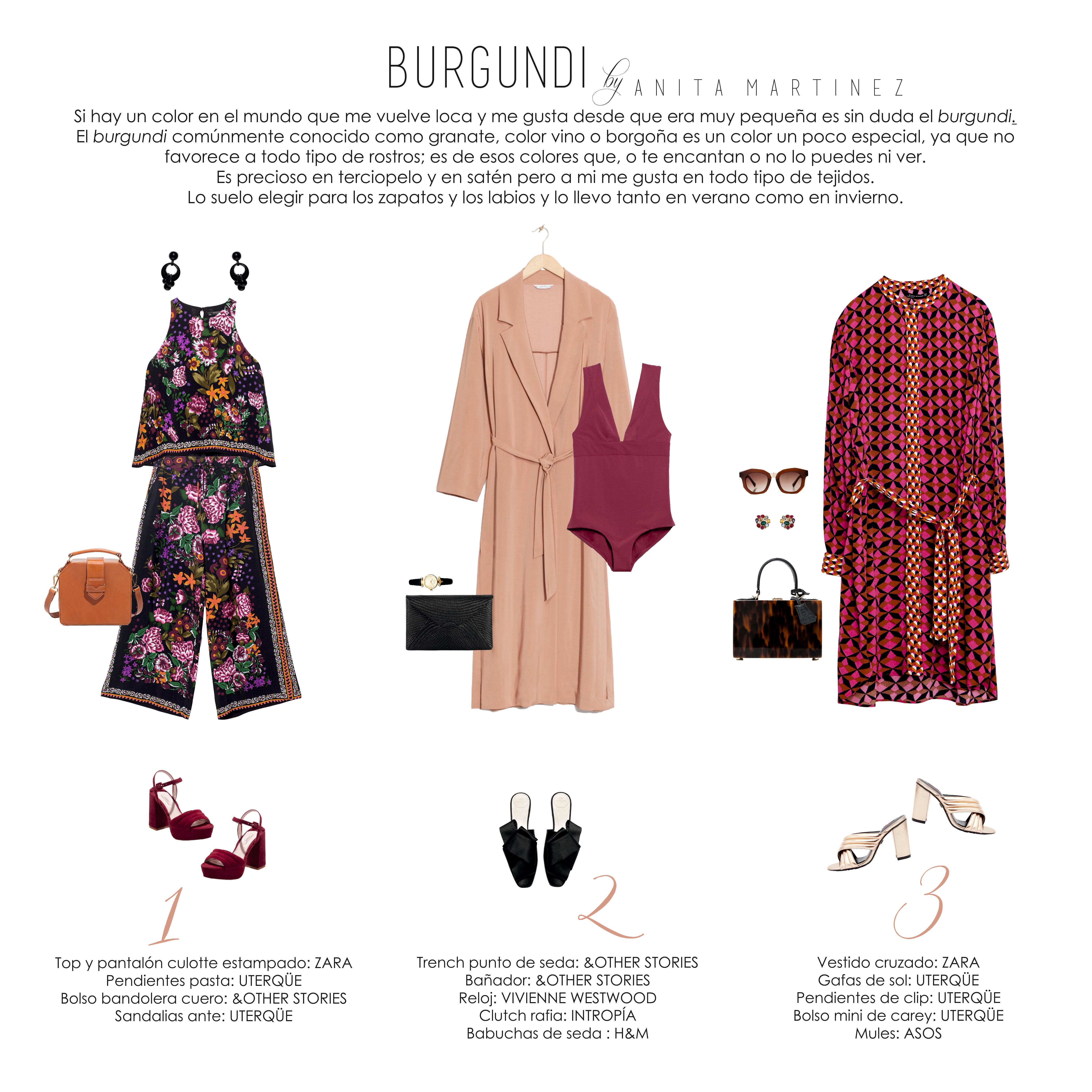BURGUNDY by ANITA MARTÍNEZ
