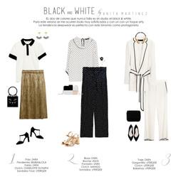 BLACK AND WHITE by ANITA MARTÍNEZ