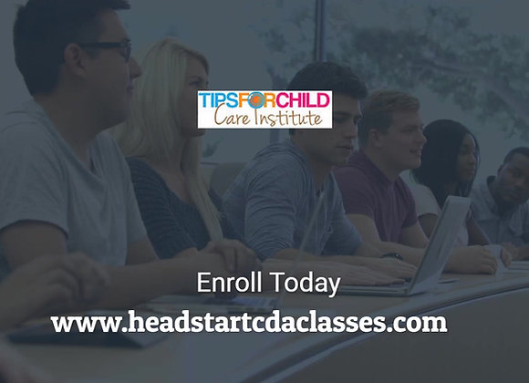 Head Start CDA Jumpstart - One Week Intensive