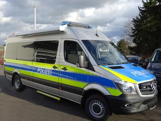 Mobile Wache für die Polizei in NRW