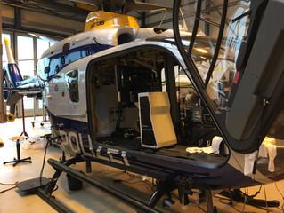 Umrüstung der Hubschrauber Polizei Brandenburg