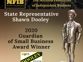 The National Federation of Independent Business Endorses Shawn Dooley for Re-Election