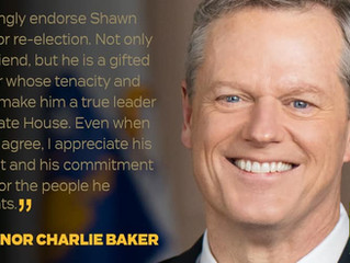 Governor Baker Endorses Shawn Dooley for Re-election