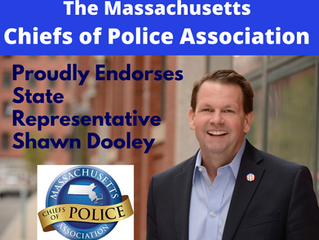 The MA Chiefs of Police Association Endorses Shawn Dooley for Re-Election