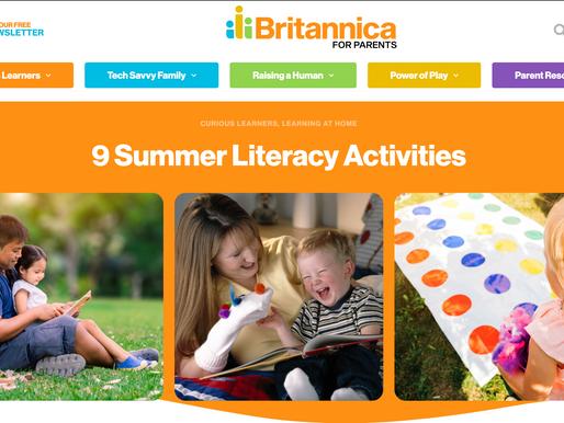 9 Summer Literacy Activities