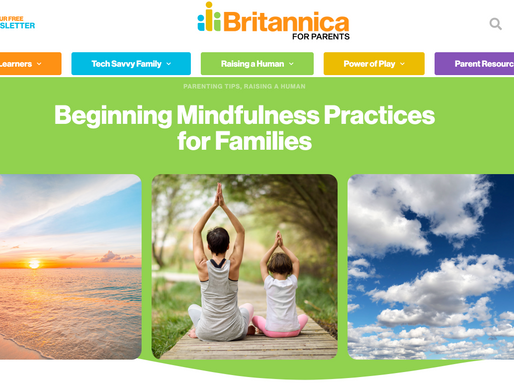 Beginning Mindfulness Practices for Families