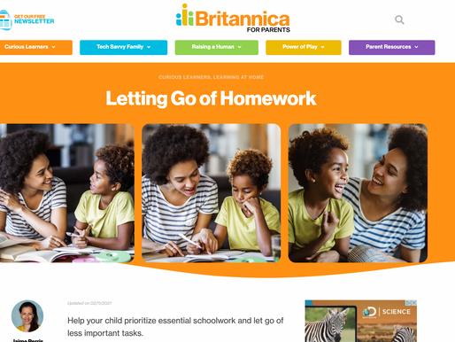 Letting Go of Homework