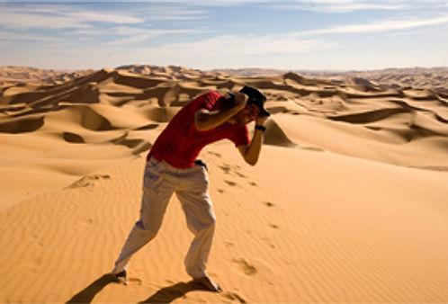 mar de arena de ubari