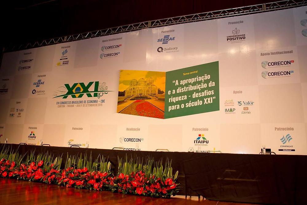 Painel do XXI Congresso Brasileiro de Economia