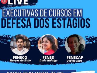 EXECUTIVAS DE CURSOS EM DEFESA DOS ESTÁGIOS