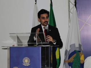 Presidente da FENECO discursa em Solenidade de posse do COFECON