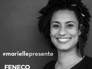 FENECO manifesta pesar com morte de Marielle Franco