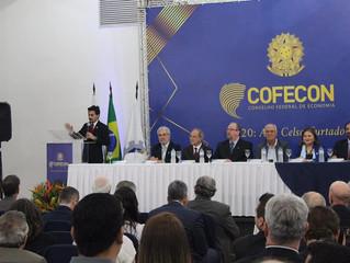 Posse da presidência eleita do Cofecon  para o ano de 2020