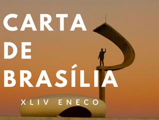 CARTA DE BRASÍLIA - XLIV ENCONTRO NACIONAL DOS ESTUDANTES DE ECONOMIA