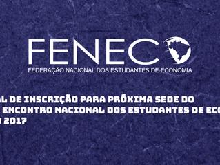 Edital para Inscrição da Próxima Sede do ENECO
