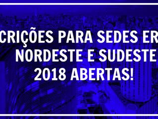 FORMULÁRIO PARA ENVIO DE PROJETO DE ERECO 2018 - REGIÕES NORDESTE E SUDESTE