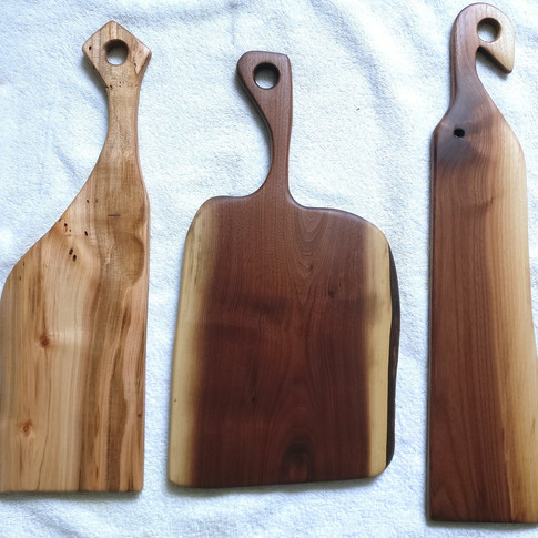 Handled charcuterie boards