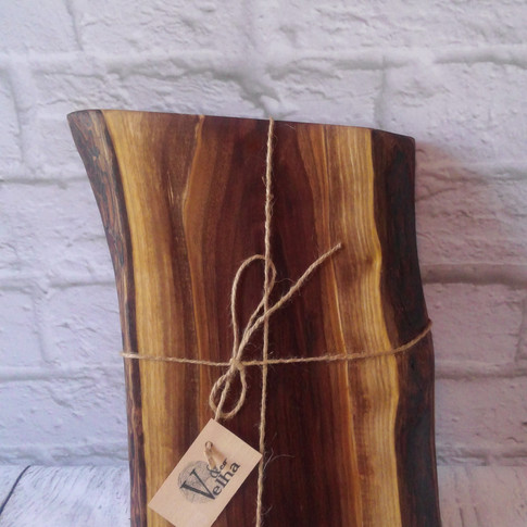 Live edge black walnut charcuterie/cutting board