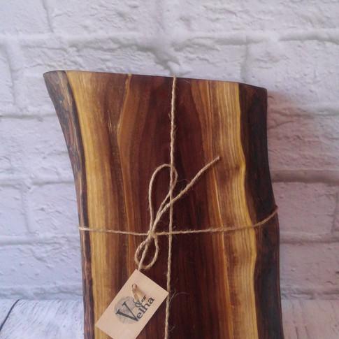 Live edge black walnut charcuterie/cutting board