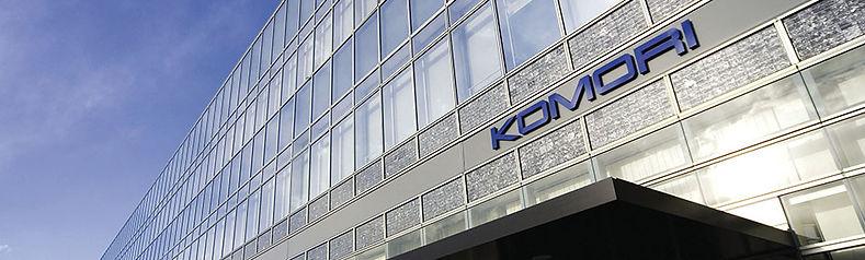 Komori Corporation - Tsukuba factory