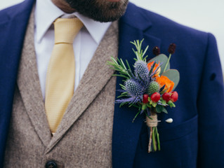 Buttonholes and corsages...who gets one?!