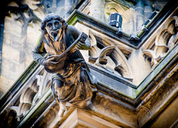Gargouille cathédrale Saint-Guy
