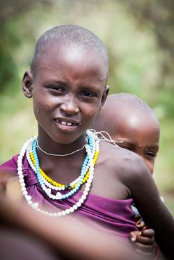 Jeune fille Massaï