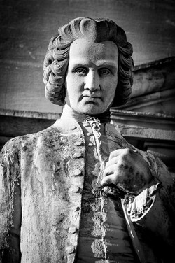 Statue de Jean-Jacques Rousseau